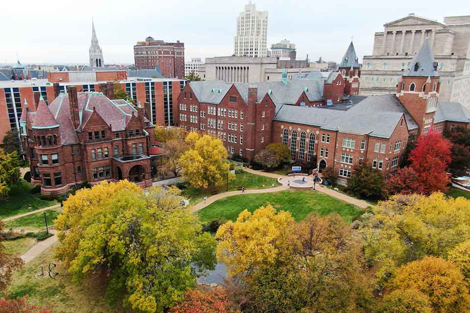 SLU Campus in Fall